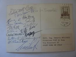 "Cartolina  Viaggiata ""ITALA RAID PEKING PARIS 1989 Saluti Dall' IRAN"" Autografi Partecipanti - Cartoline"