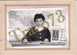 BAGHERIA _ 1966 /  Alunno In Posa  _  Foto Formato 9 X 14 Cm. - Luoghi