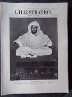 L'Illustration N° 3449 Du 3 Avril 1909  Moulai-Hafid, La Victoire De Lutteur III Au Steeple Chase De Liverpool - Journaux - Quotidiens