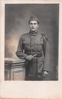 """¤¤  -  Carte-Photo Militaire Non Située D'un Soldat En Uniforme """" 3 """" Sur Le Col  -  ¤¤ - Uniformes"""