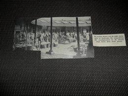 """Origineel Knipsel ( 2516 ) Uit Tijdschrift """" Ons Volk """"  1934 :   Oostende  Ostende - Vieux Papiers"""