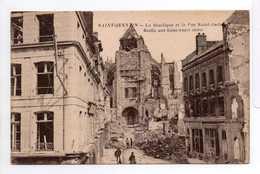 - CPA SAINT-QUENTIN (02) - La Basilique Et La Rue Saint-André - Edition E. C. - - Saint Quentin