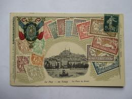 LANGAGE DES TIMBRES   -  TIMBRES FRANCAIS   -  LE PUY EN VELAY       TTB - Postzegels (afbeeldingen)