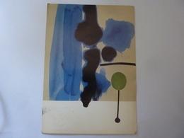"""Cartolina  Viaggiata """"VICTOR PASSMORE VERNISSAGE Edizioni D'Arte Delfini Roma 1986"""" - Inaugurazioni"""