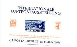 Allemagne,Lufpost-Zeppelin-vignette***MNH - Zeppelins