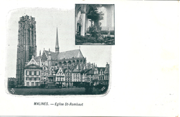 Malines - Eglise St-Rombaut - Malines