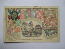LANGAGE DES TIMBRES   -  TIMBRES FRANCAIS   -  CLERMONT-FERRAND         TTB - Postzegels (afbeeldingen)