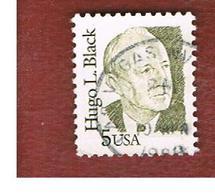 STATI UNITI (U.S.A.) - SG 2112   -  1986 GREAT AMERICANS: H. BLACK - USED - Usati