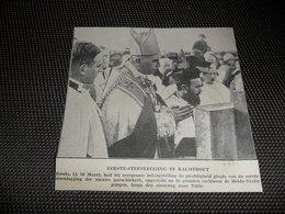 "Origineel Knipsel ( 2518 ) Uit Tijdschrift "" Ons Volk ""  1934 :   Calmpthout   Kalmthout - Vieux Papiers"