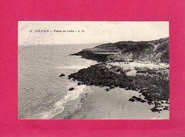 17 Charente Maritime, Ile D'Aix, Falaise De Liédot, Cachet Ile D'Aix, , 1915, (L. C.) - France