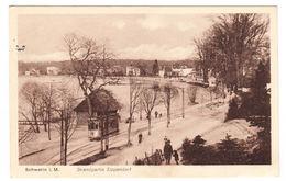 AK Schwerin, Strandpartie Zippendorf, Gel. 1925 - Schwerin