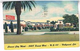 HOLLYWOOD  CINEMA  CITY MOTEL   TBE    US298 - Los Angeles