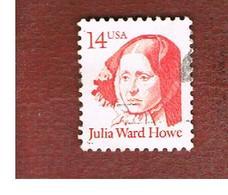 STATI UNITI (U.S.A.) - SG 2120   -  1987 GREAT AMERICANS: J.W. HOWE - USED - Usati