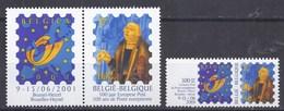 BELGIQUE - COB - 2901** Et 2932** + Feuille De 20 Vignettes Du 2901** + Documentation Sur Belgica 2001 ( 44 Pages ) - Universal Expositions