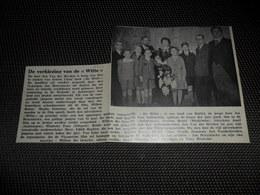 """Origineel Knipsel ( 2522 ) Uit Tijdschrift """" Ons Volk """"  1934 :    Film """" Witte """"  Ernest Claes   Duffel - Vieux Papiers"""