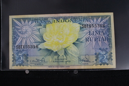 M-An / Billet - Bank Indonesia - Indonésie -  5 Rupiah  / Année 1959 - Indonésie