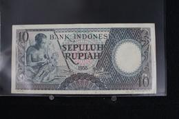 M-An / Billet - Bank Indonesia - Indonésie -  10 Rupiah  / Année 1958 - Indonésie