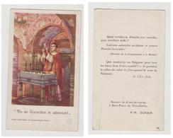 SOUVENIR DE 25 ANS DE VICARIAT A SAINT-PIERRE DU GROS-CAILLOU - P. M.  DOMAIN -.P.C.D.A.S. - Images Religieuses