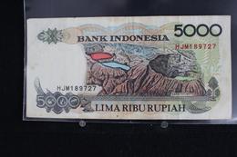 M-An / Billet - Bank Indonesia - Indonésie -  5000 Rupiah  / Année 1992 - Indonésie