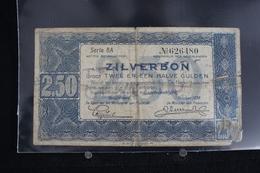 M-An / Billet -  Nethrlands 2.5 Gulden 1938 Zilverbon / Année 1938 - 2 1/2 Gulden