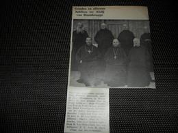"""Origineel Knipsel ( 2529 ) Uit Tijdschrift """" Ons Volk """"  1934 : Abdij Steenbrugge  Affligem  Dendermonde Abbaye - Vieux Papiers"""