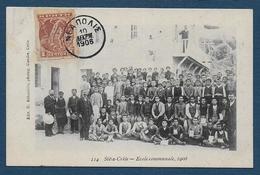 CRETE - Sitia - Ecole Communale , 1906 - Griechenland