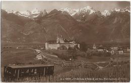 CPA - Château D'AIGLE Et Les Cornettes - VD Vaud