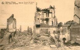 43488534 Ypres_Ypern_West_Vlaanderen Maisons En Ruines Ypres_Ypern - Belgique