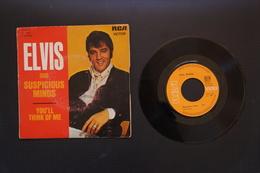 ELVIS PRELEY SUSPICIOUS MINDS SP 1969 VALEUR + - Rock