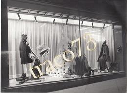 PALERMO _1968 /  Vetrine Negozio BELLANCA E AMALFI  _ Foto Formato 18 X 24 Cm. - Luoghi