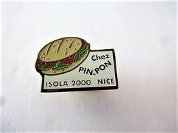 PINS  RESTAURANT PIN-PON ISOLA 2000 ET NICE / 33NAT - Food