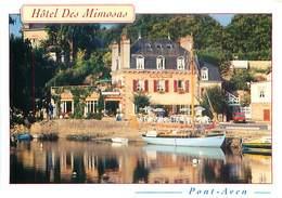 29  Pont Aven - L' Hotel Restaurant Des Mimosas AM 670 - Pont Aven