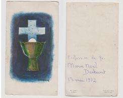 PROFESSION DE FOI - MARIE NOEL DESBANT - 13 MAI 1972 - ART GRAPHIC S/99-5 - Images Religieuses