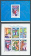 Bhutan, 1997, Folktales, Mini & Souvenir Sheet - Bhutan
