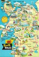 North Wales. Carte Moderne - Pays De Galles