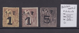 COLONIES FRANCAISES - CHINE. Sur Fragment. Cote : 140€ - Annam And Tonkin (1892)
