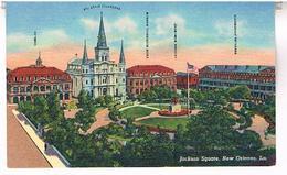JACKSON  SQUAR  NEW  ORLEANS  LA.   TBE    US299 - New Orleans
