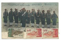 GABON - TIRAILLEURS AFRICAINS 1914/18 - CPA - Gabon