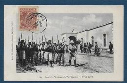 CRETE - Soldats Français à Hierapetra , 1906 - Grecia