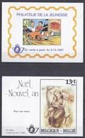 BLGIQUE - Vignettes De Prévente Des Timbres 2264 - 2269 - 2277/78 - 2280/81+Bl63-2271/72 - Belgium
