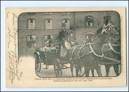 U5720/ Hamburg Krankenhaus Eppendorf Besuch Der Kaiserin Victoria 1899 AK  - Eppendorf