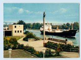 X1N24/ Rendsburg Nord-Ostsee-Kanal  Frachtschiff  AK Ca.1970 - Rendsburg