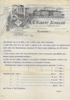 ALTONA .- A.C. ALBERT SCHULZE - Petits Métiers