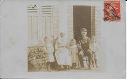 Cpa Photo- Famille Du Père LANGLOIS-envoyée Mr Mme LANGLOIS - CHALONS Voir Dos - Photographie
