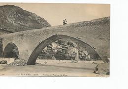 Fontan , Le Pont Sur La Roya - France