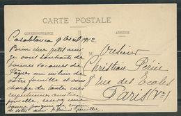 MAROC 1912 CPA Casablanca En FM Corps De Débarquement Au Maroc - Marcophilie (Lettres)