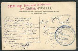 MAROC 1911 CPA  En FM Maroc Oriental - Marcophilie (Lettres)