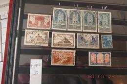 Petit Lot De Timbres Sites Et Monuments Obliteres 258/263+ - Timbres