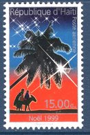 Haïti, Timbre Oblitéré, 1999, Noël, Valeur Faciale 15.00 G - Haïti
