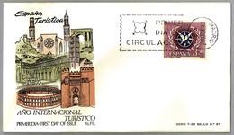 AÑO INTERNACIONAL DEL TURISMO - INTERNATIONAL YEAR OF TOURISM. SPD/FDC Madrid 1967 - Vacaciones & Turismo